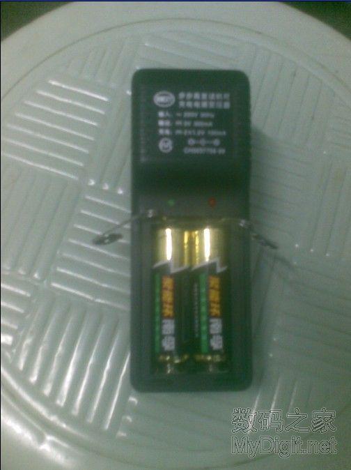 再次创意充电,给南孚碱性电池充电——放心充5小时以内为好~