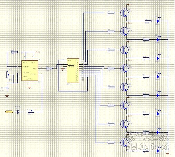 led彩灯制作方法_音乐彩灯控制器电路图_彩灯控制器电路图_水位控制器电路图_鹊桥吧