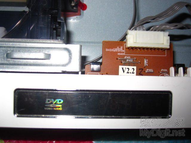 拆机 求助 步步高DVD HD901几乎无法读碟