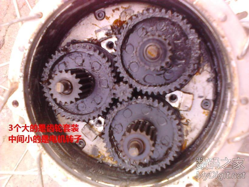 电动车 齿轮/拆解捷安特电动车,齿轮坏了