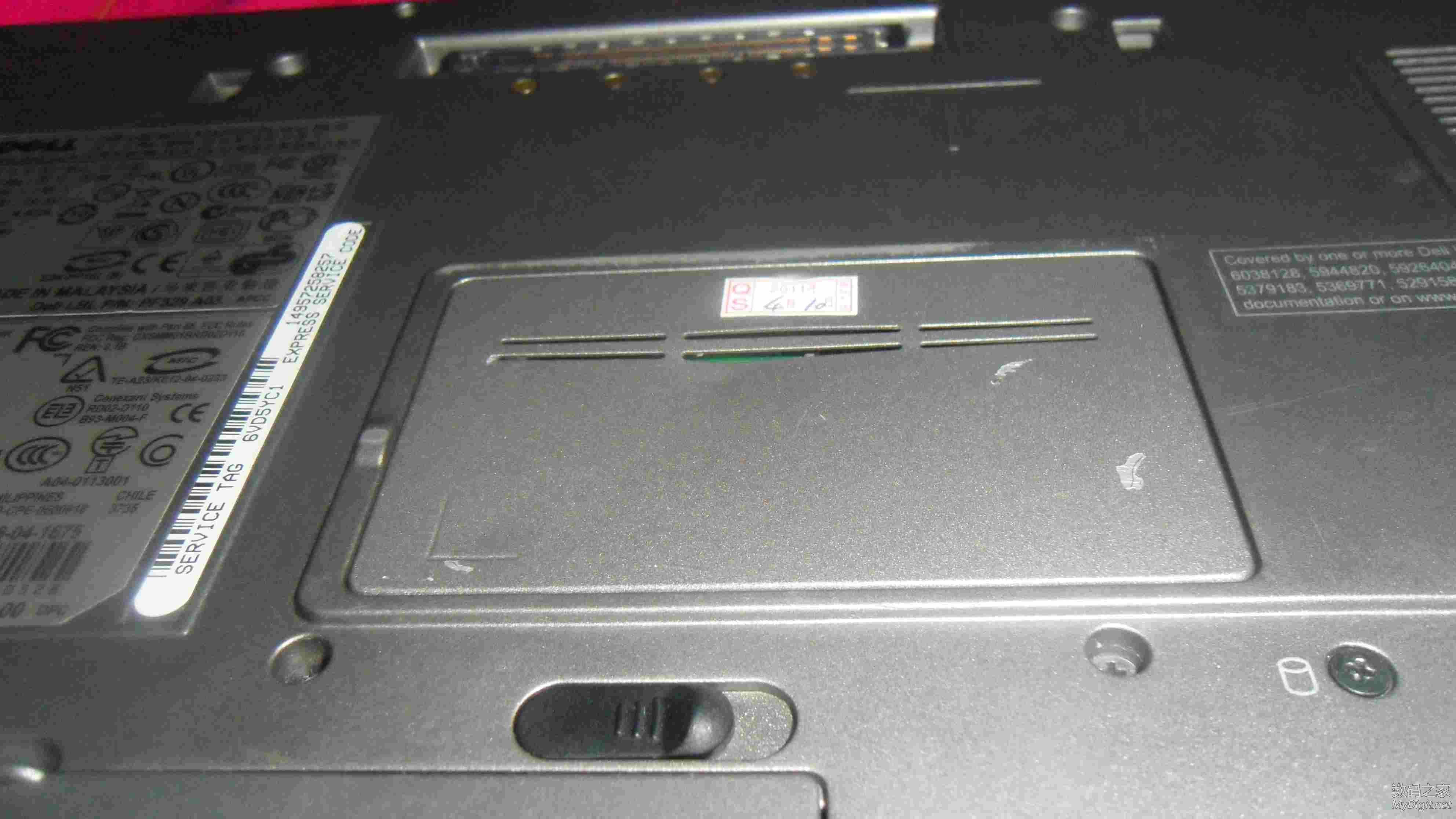 拆解DELL D620笔记本电脑 新手发图 多多包涵