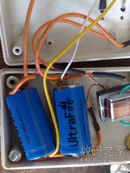充电打火机原理图