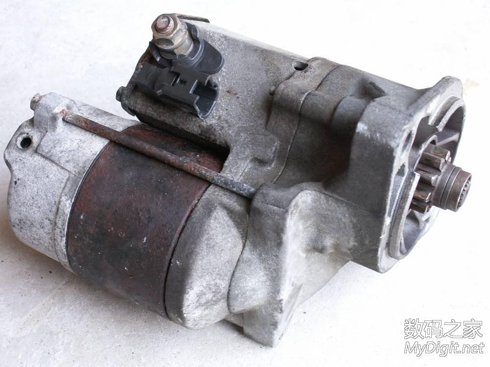 拆修日本电装汽车起动机,有原理和独门零成本修复秘笈高清图片