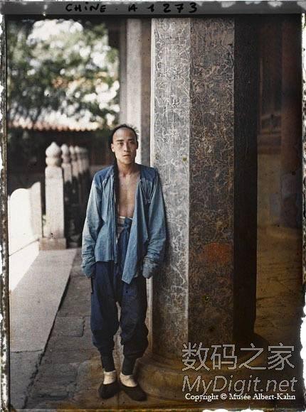 清朝北京彩色照片_RE罕见的清末1910年彩色老照片组图转_浅