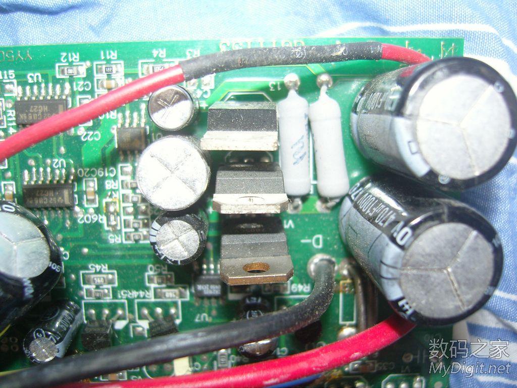拆了个电动车控制器,顺带求修