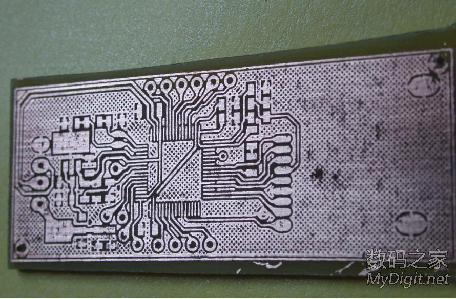 实战热转印,再次diy读卡器,挑战8mil线宽。有图。(转) 76_1217992_88d2b8b43e4d994