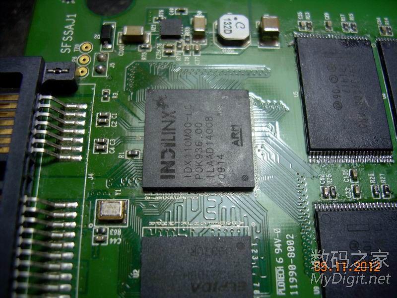晒一晒最近做的SLC SSD还有一个SF2281疯狂的飞线之失败的产品。