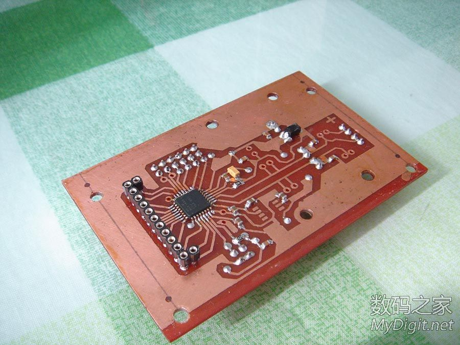 自制免调试4位半数字电压表