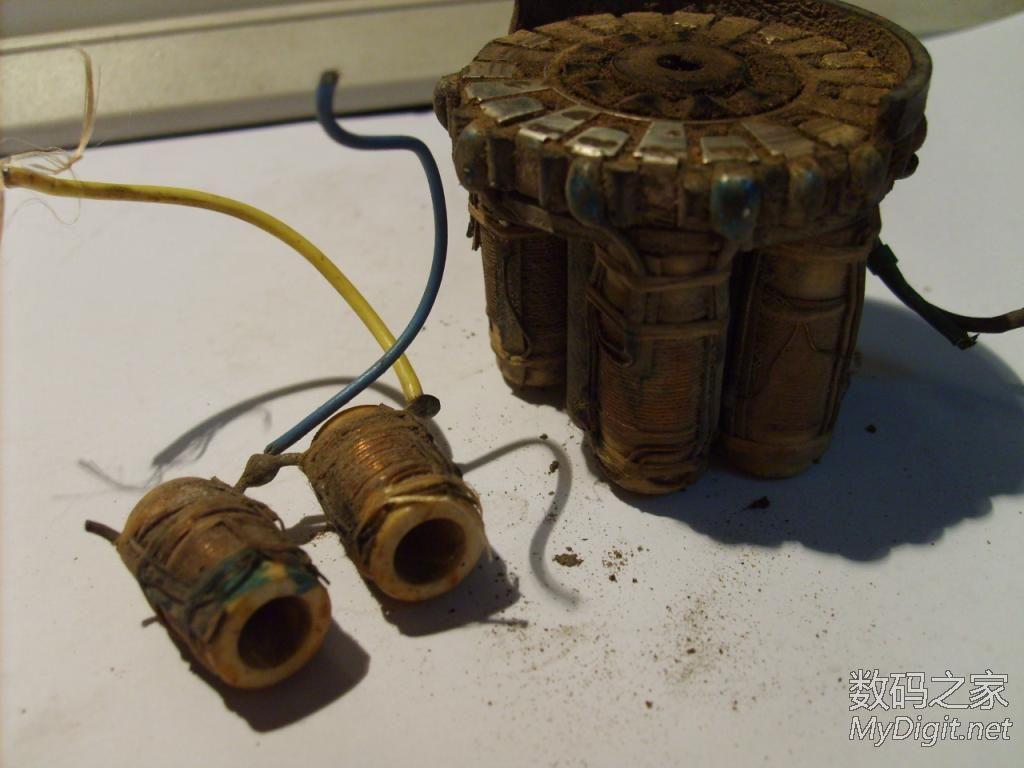 表分流器,拆个老式直流电焊机上的调流器 只剩一部分了图片