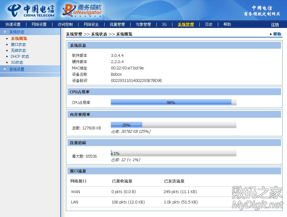 默认的时间服务器居然是openwrt 带有PPTP VPN服务器功能   web