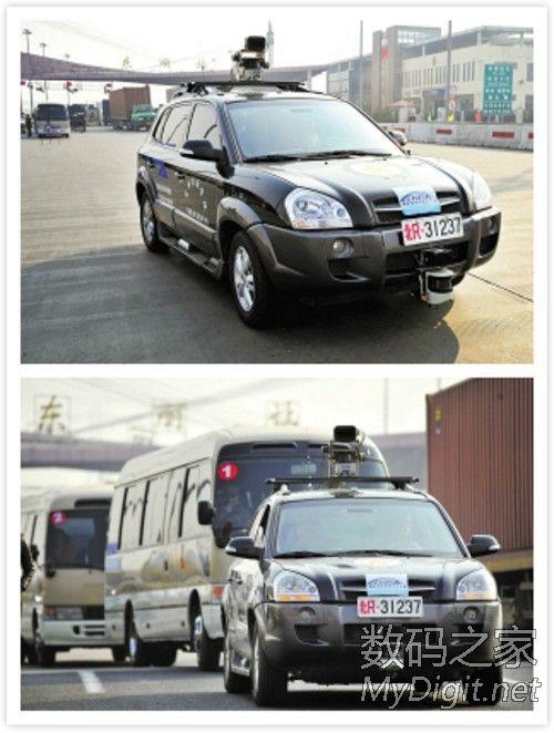 ,与google一样,国内的无人驾驶汽车也仍处于科学研发阶段,有专高清图片
