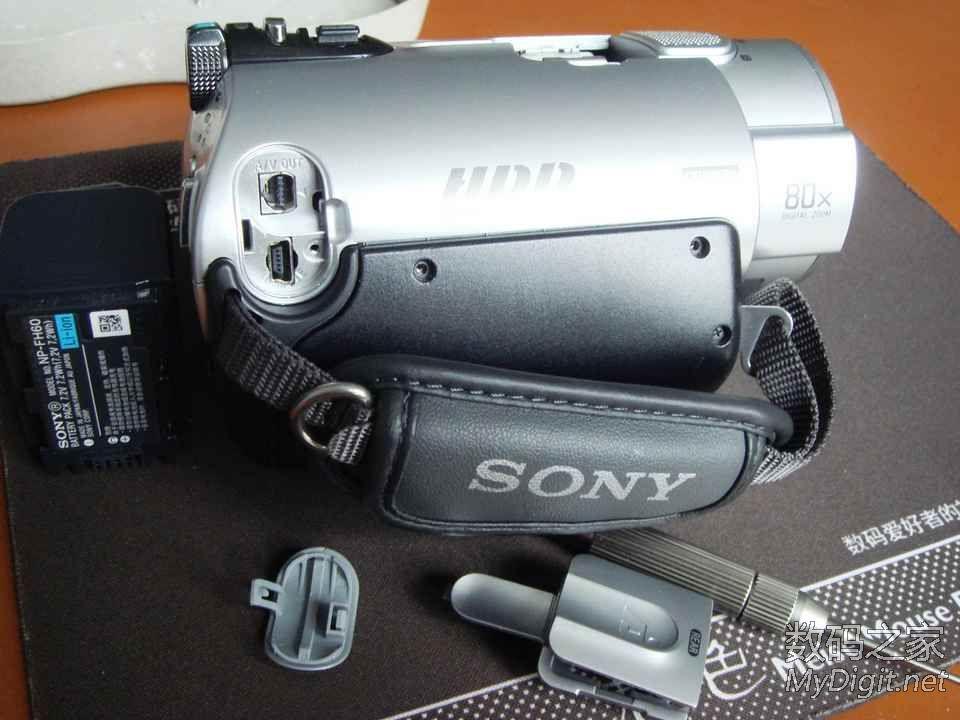 SONY DCR-SR200E硬盘摄像机机身加装USB接口