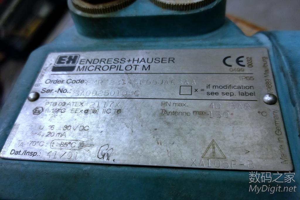 拆解德国E+H雷达液位计,天线结构出乎意料(58P)