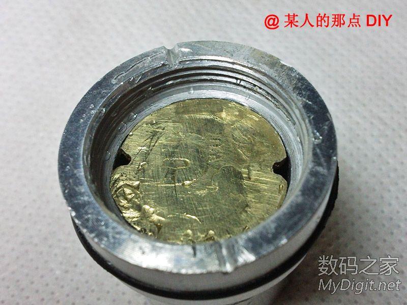 【到手拆】28元包邮的T6灯珠手电到了,居然真是尾部铜柱导电!更新电流测试!