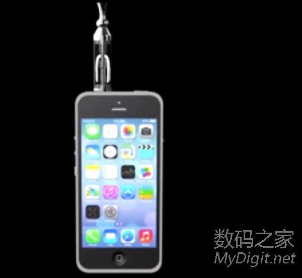 ...的目前世界上体积最小也是最便携的喷雾器它被做成了手机套...