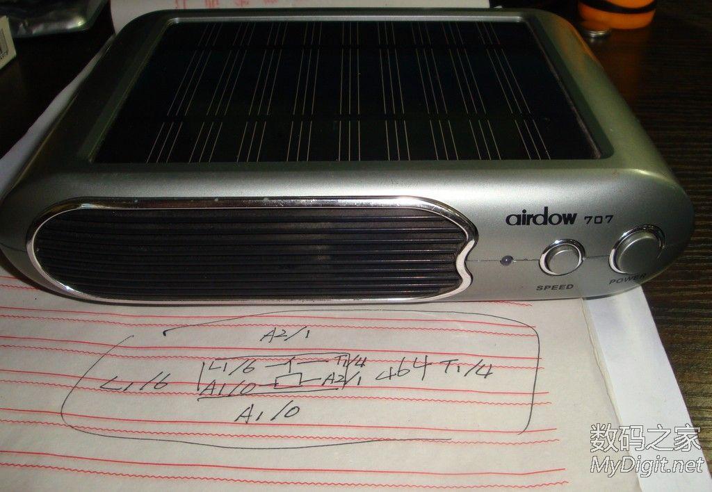 拆一个带太阳能板的车载空气净化器