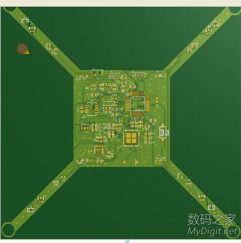 WIFI 迷你四轴飞行器 STM32(开源,全部资料)