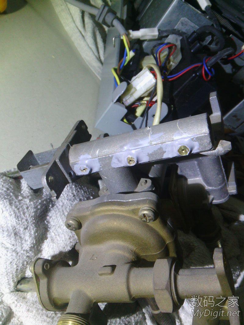 液化气万和热水器拆改天然气图片
