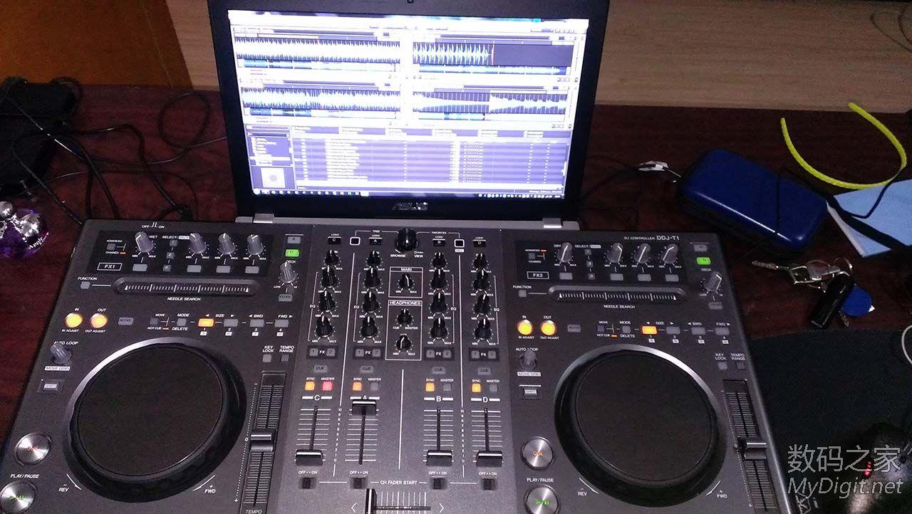 先锋DDJ-T1数码DJ控制器,9成新¥3000
