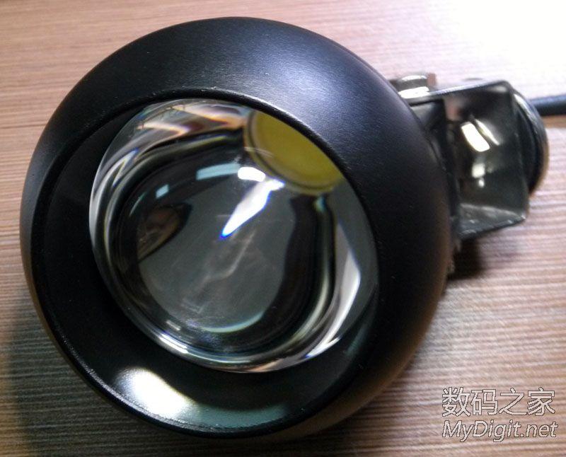 拆汽车车顶探照灯 20w led 金属铝外壳高清图片
