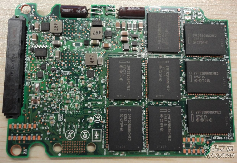 英特尔数据中心级DC-S3700 400GB HET-MLC SSD拆解+评测