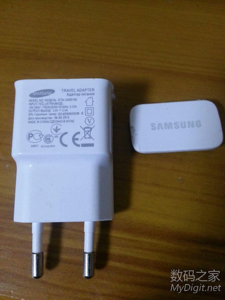 今天note 2手机充电器 坏了 拆开看看 已找到原因 以修复 高清图片