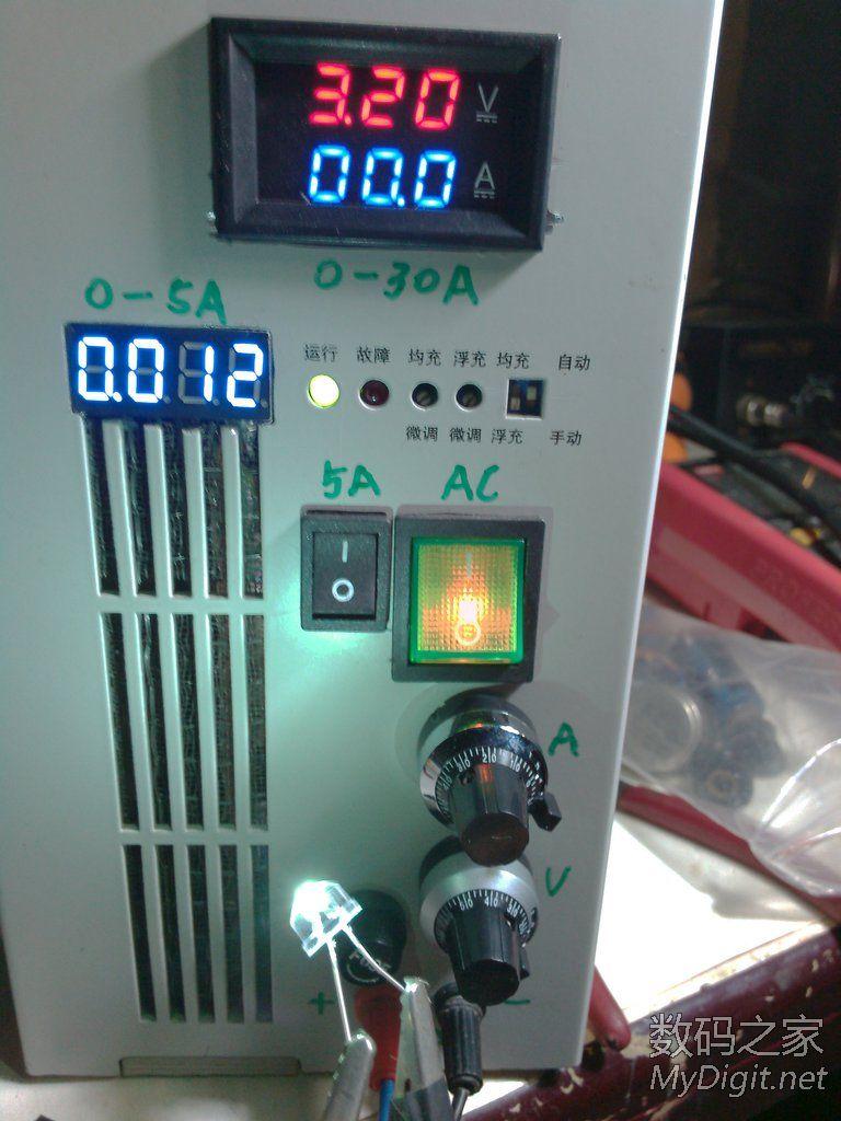 发光2级管 电压 电流图片1