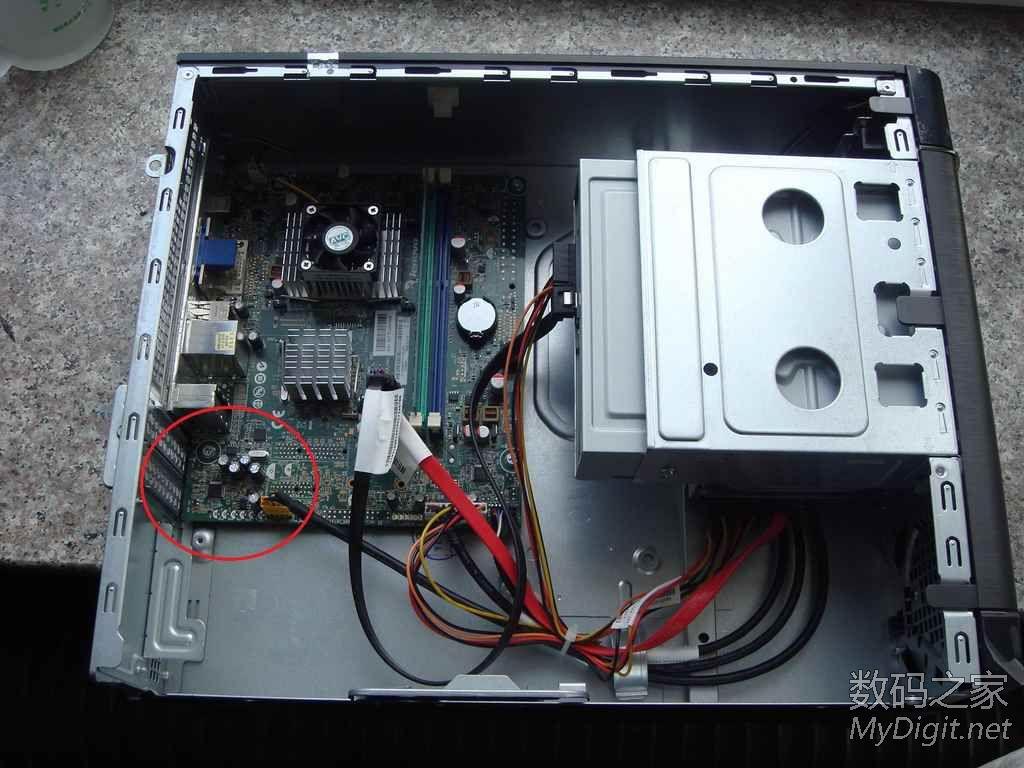 联想家悦S505Z电脑无声故障,经查GS78L05S损坏图片