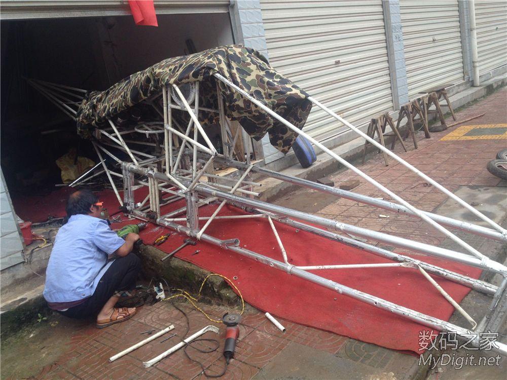 《最后更新》看看牛人DIY飞机!