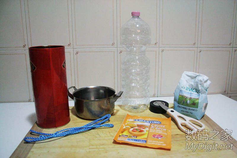 矿泉水瓶简单自制化学诱饵,不用电的,灭蚊器