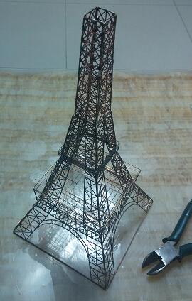 看到坛友制作眼馋我也复制了一个铁塔,重新编辑