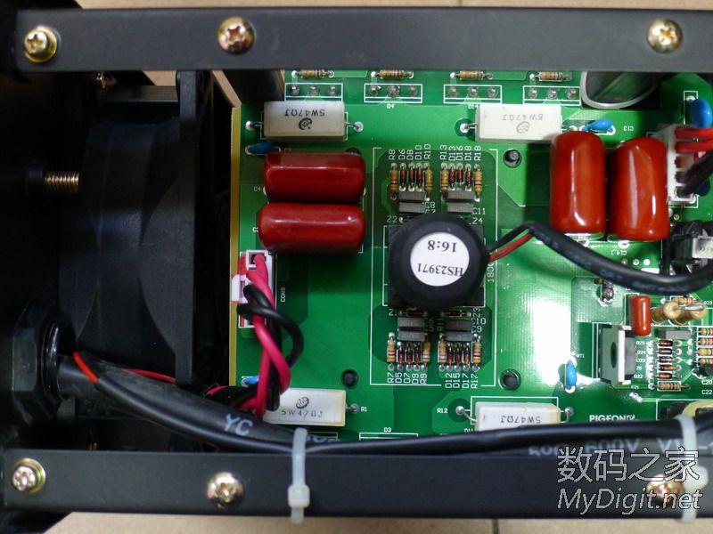 鸽牌zx7 200a逆变小电焊机拆解