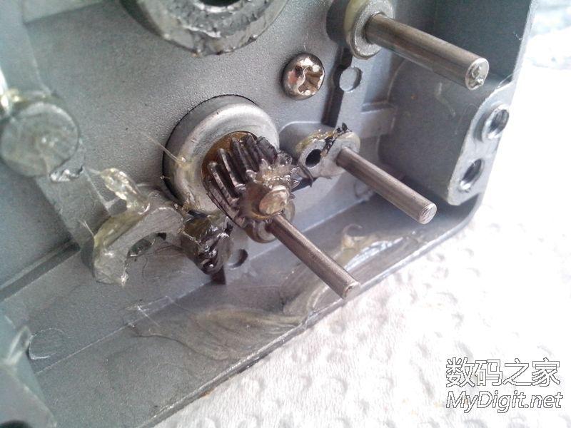 拆个工业用的24V直流减速机