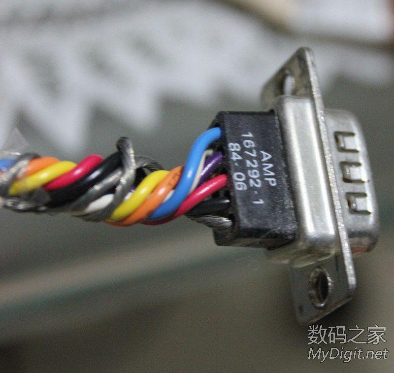 正常好的9针显示器接口接线图-一台IBM老CRT 5153显示器求助 维修图片