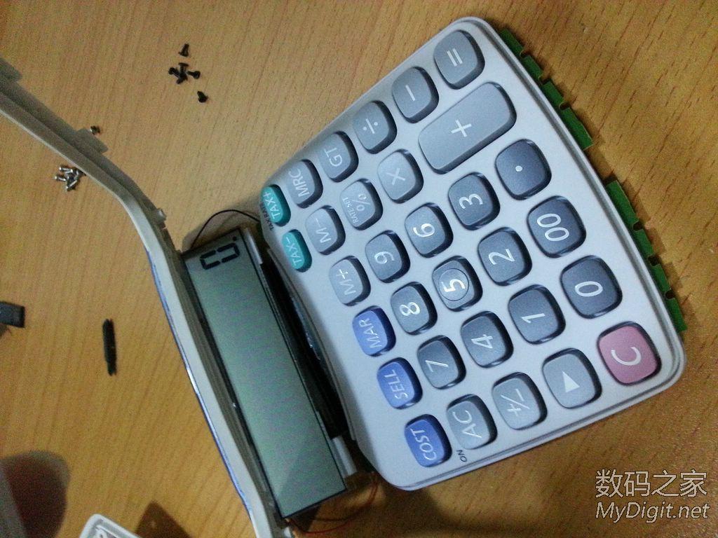 卡西欧防水防尘计算器
