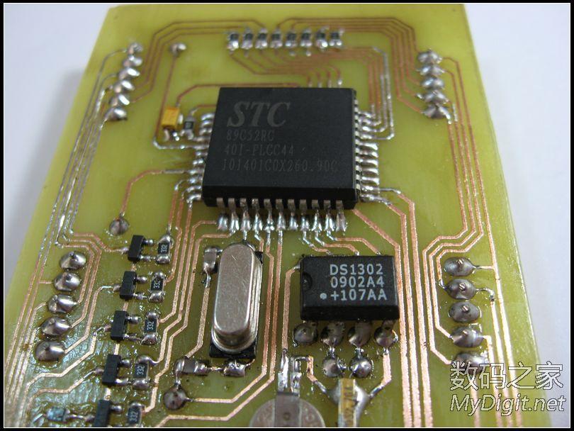 DIY 6位数码管GPS授时时钟,GPS数据格式讲解(开源共享)