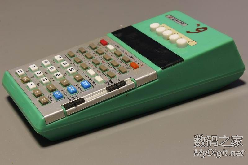 少见的国产计算器 大连ds 7c型多程序库计算器 多图含拆解