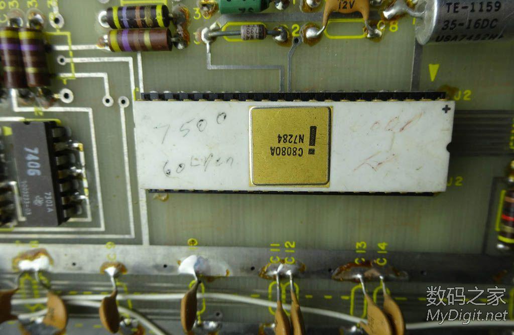 Altair 8800 微机,多图钜献(今天已成功运行4K Basic)