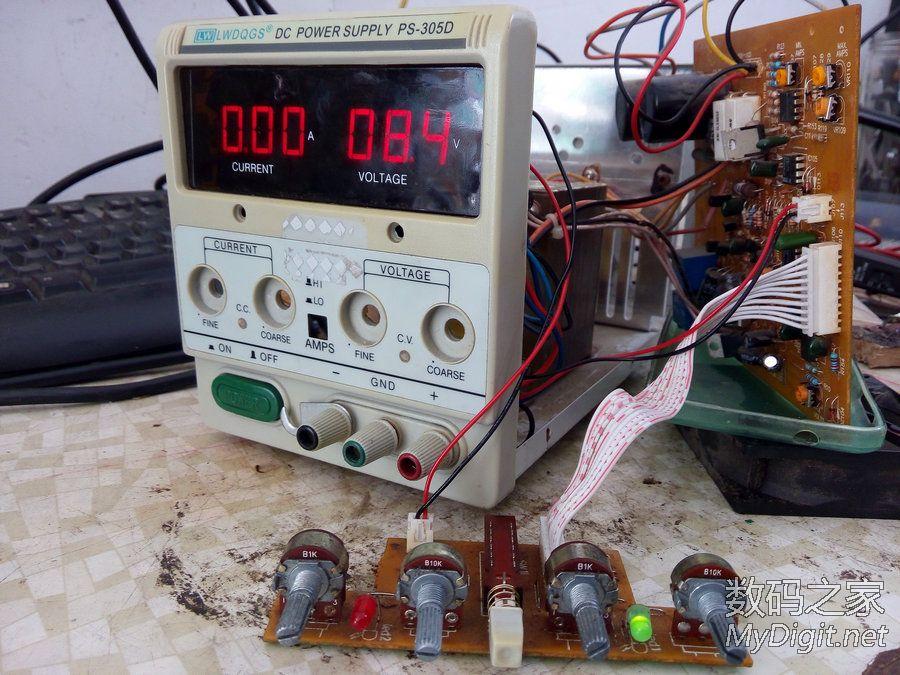 龙威305D 改善散热风扇噪音.