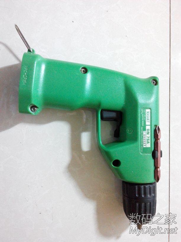 kt7.2v充电钻电动螺丝批拆开上润滑脂图片