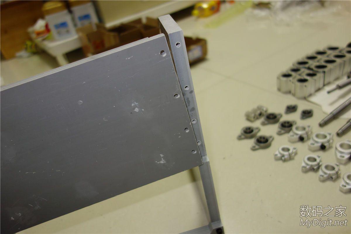 雕刻机组装,也当作是团购的DIY教程