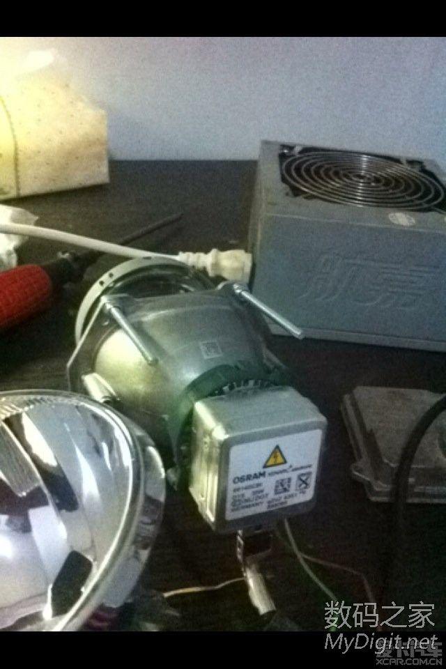 福克斯 DIY 双光透镜大灯高清图片