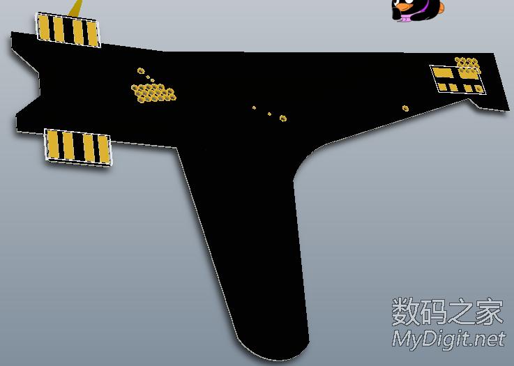 毒物来了:PCB结构的智能四轴飞行器(更新原理图)