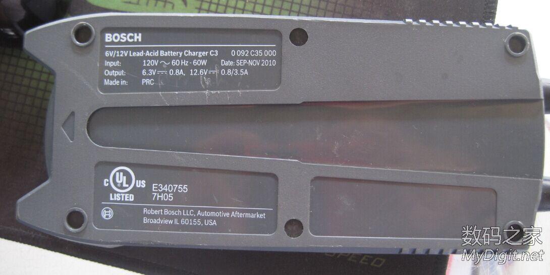 osch C3汽车蓄电池充电器,貌似全网首拆高清图片