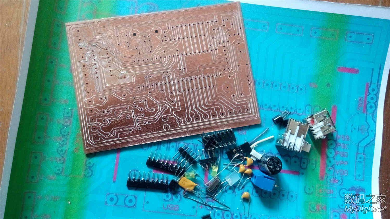 仿制USBCNC控制卡