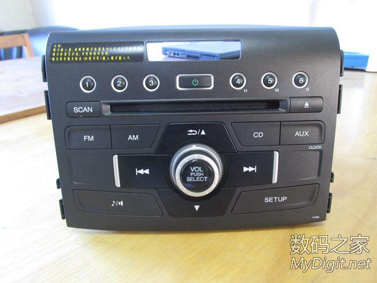 本田CRV松下CD车机.支持AUX.CD.收音机.书桌超值20元包邮高清图片
