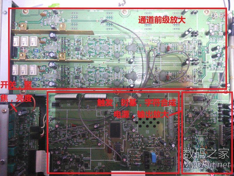 拆解+维修:岩崎IWATSU SS-7804模拟示波器