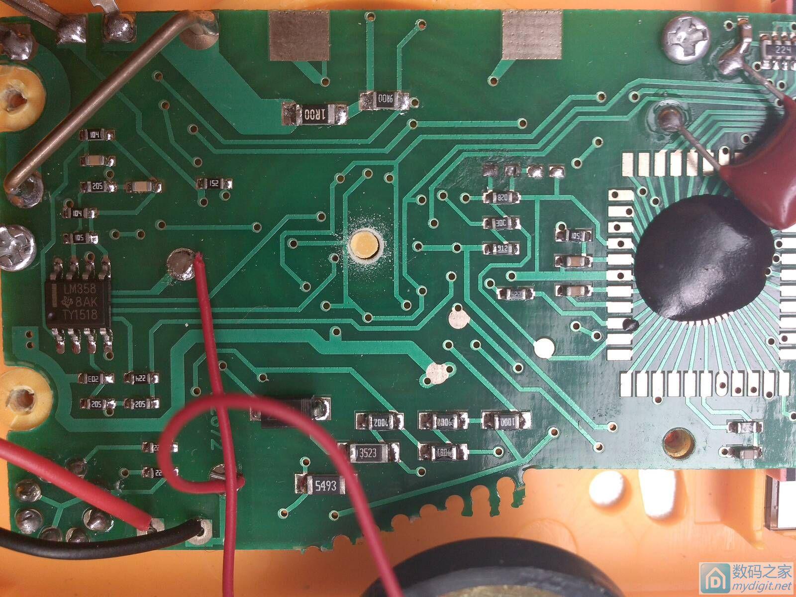 830万用表电流档坏了 怀疑是分流电阻
