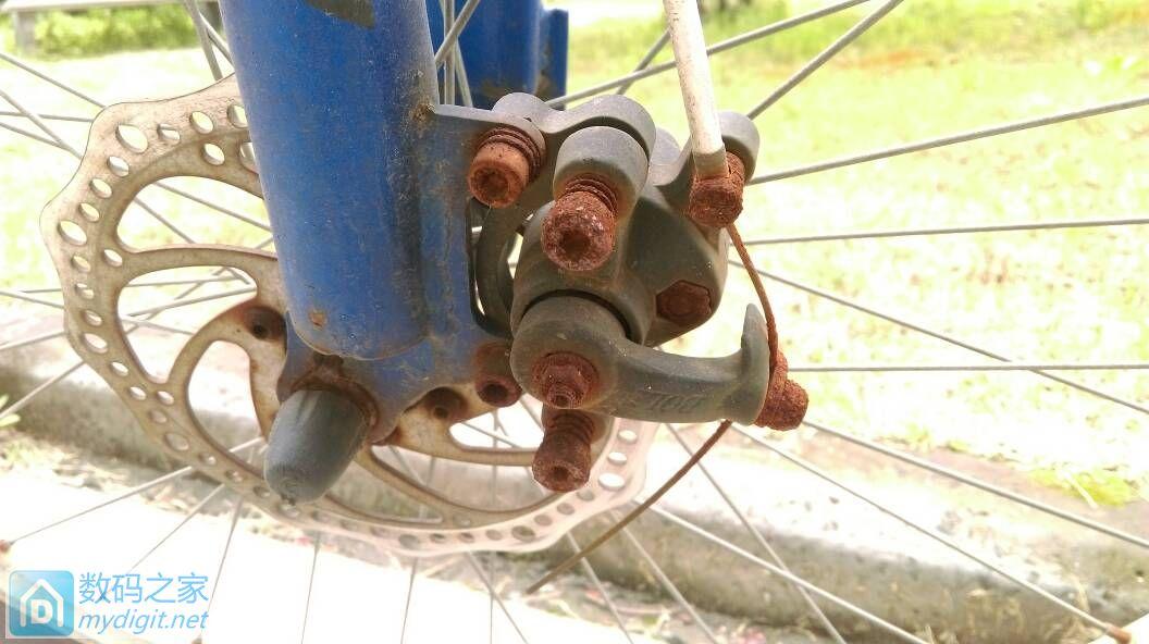 捡了一辆韩美自行车 还能修好吗