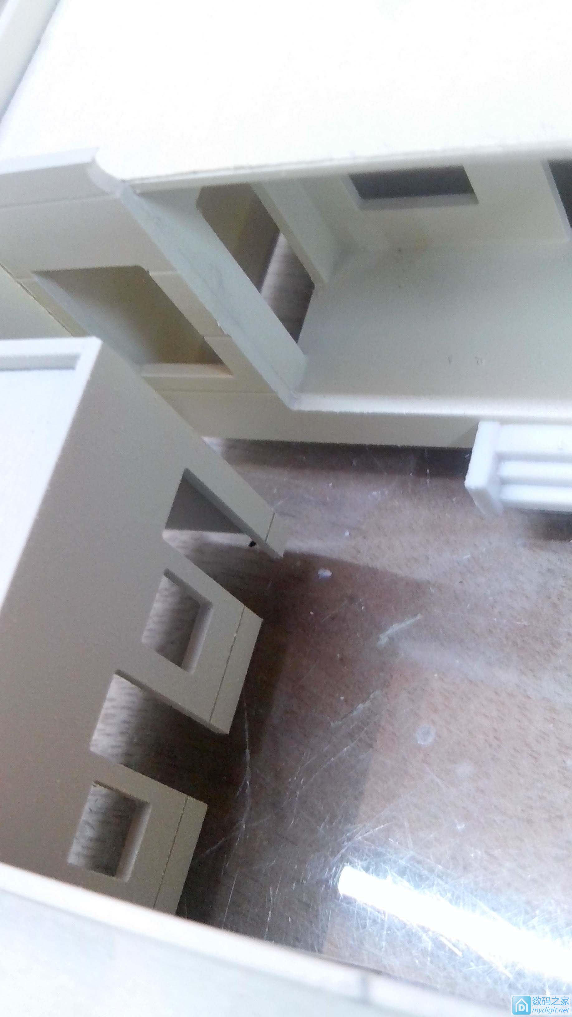 以自家房子为蓝本,用雕刻机自制沙盘模型